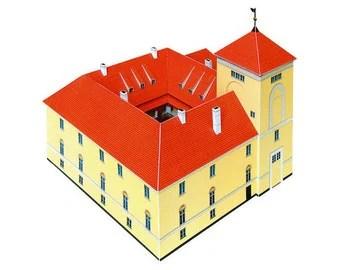 Ventspils Castle Paper Model (ASSEMBLED)