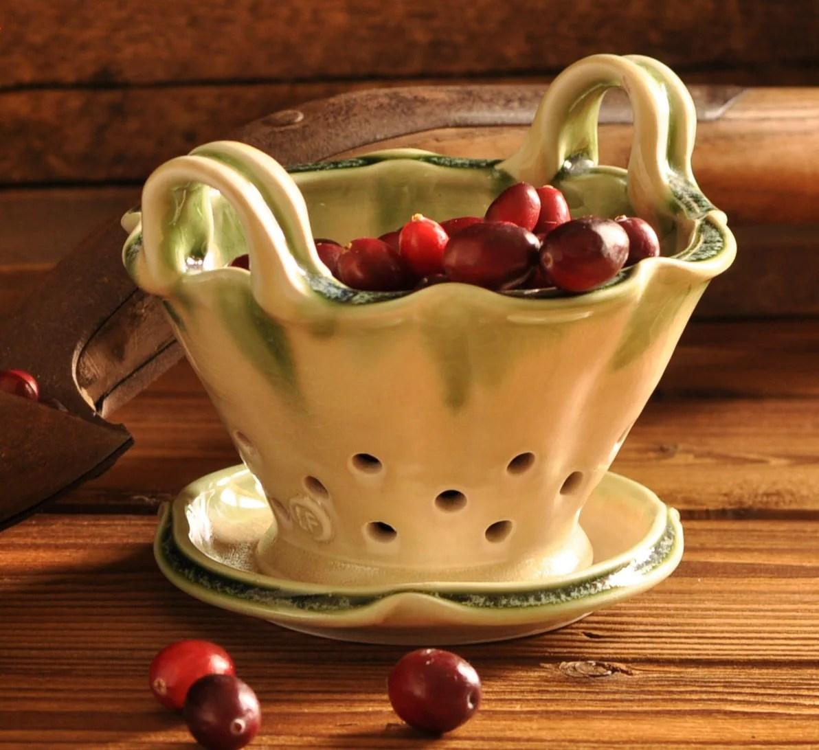 Bowl Colander Plate Berry