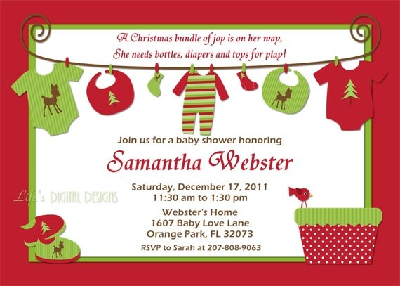 Printable Invitations Etsy