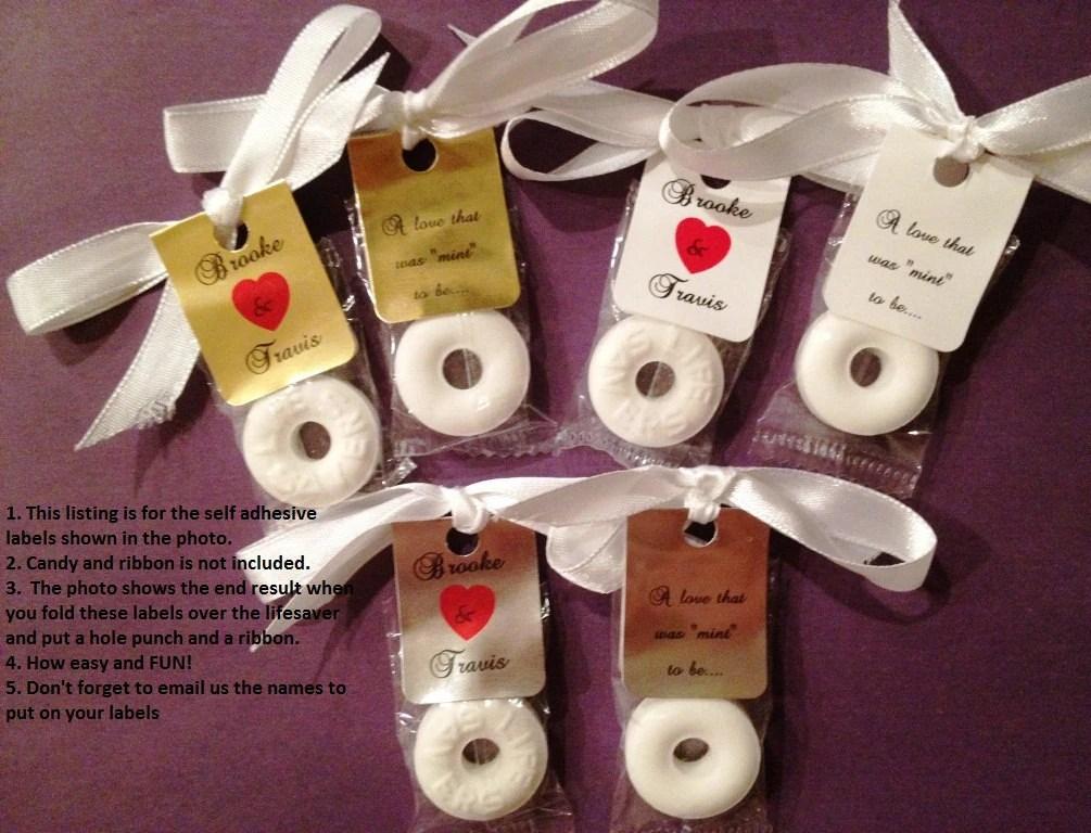 Inexpensive Wedding Favors Diy