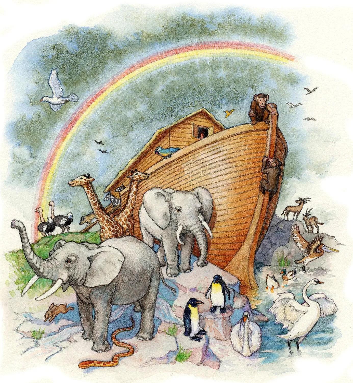 Noah S Ark Archival Print