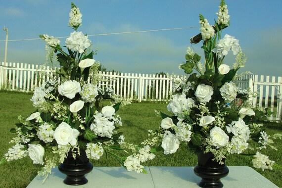 Bridal Wedding Church Altar Silk Flowers