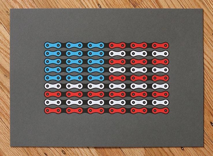 USA Chain Flag - ReissDesign