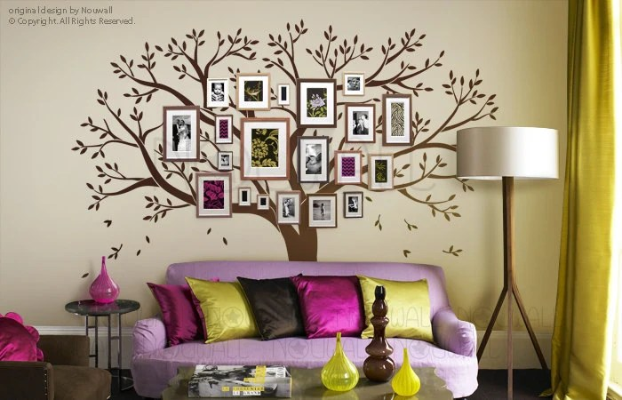 Tree Wall Decals Wall Stickers Family Tree Wall Decal