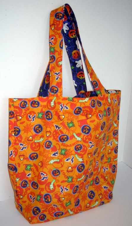 Great Halloween Bag for Collecting Treats by Cherie's Place on Etsy