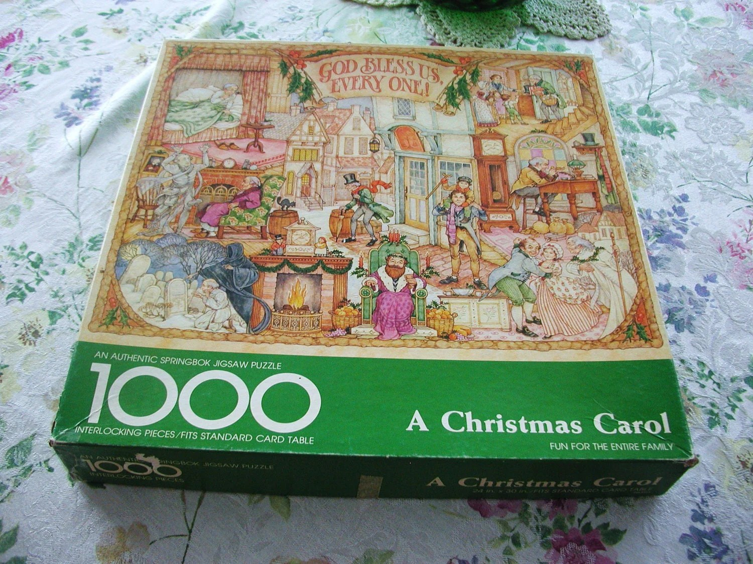 Wonderful Vintage A Christmas Carol Hallmark Puzzle 10