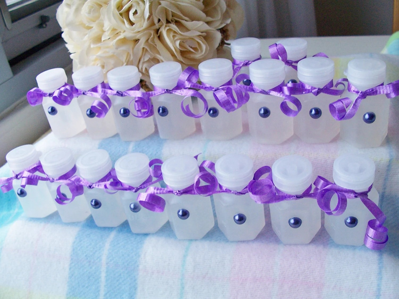 Purple Wedding Bubbles Uk