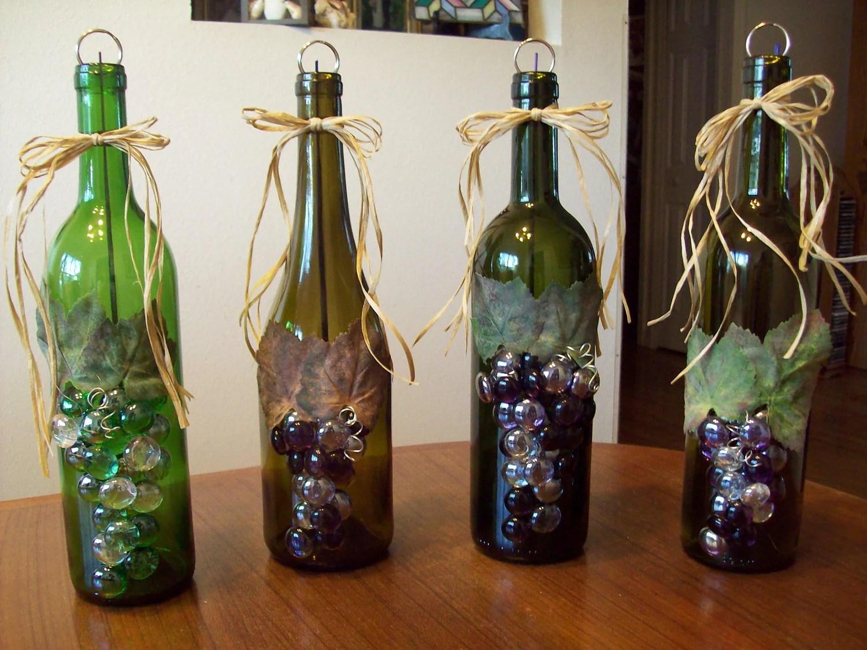 Upcycled Wine Bottle Incense Burner Unique Gift By