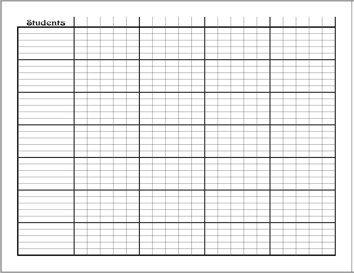 Add On Grade Sheet Pages For Lesson Planner Amp Organizer