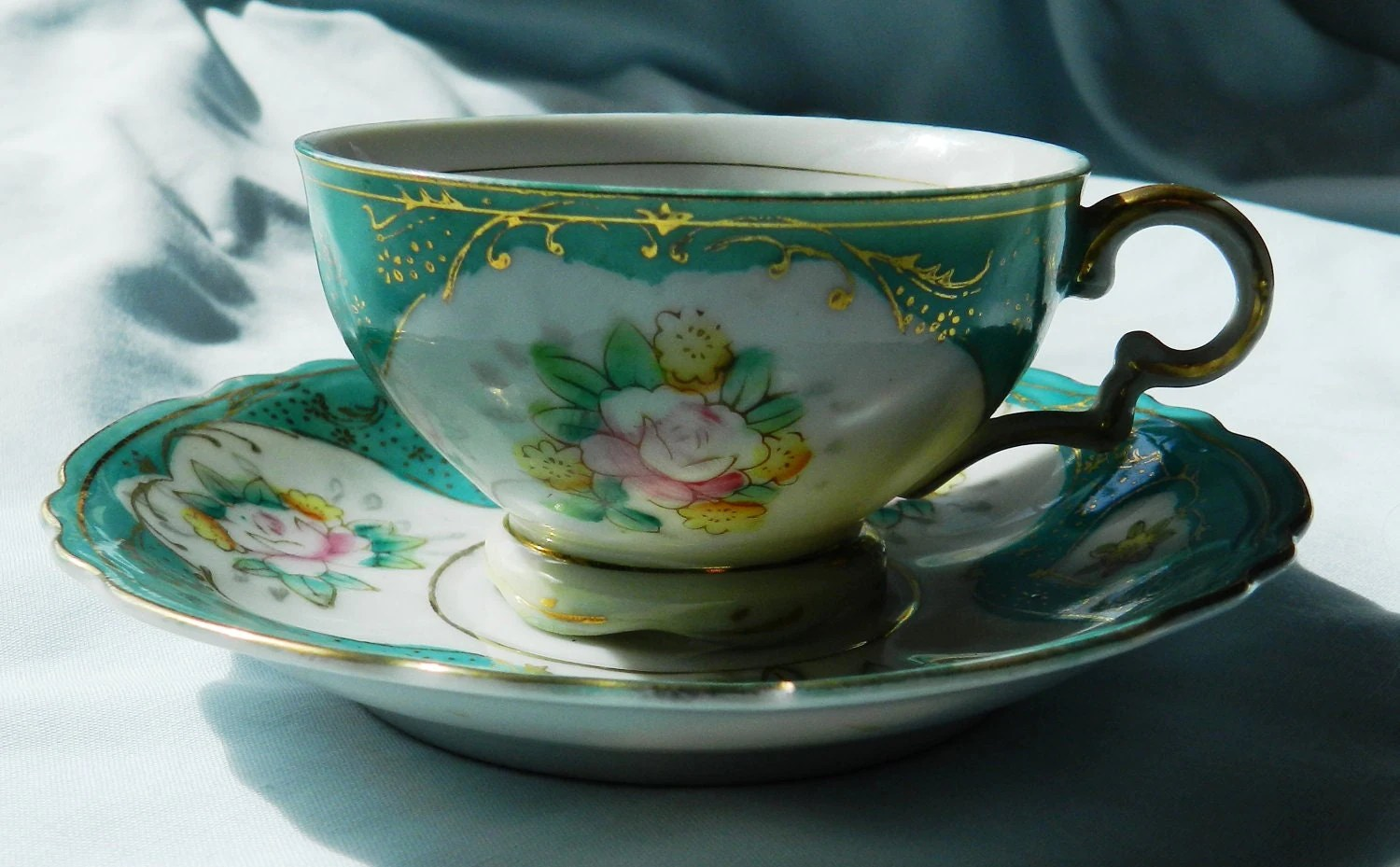 Made Japan Teacup Saucer Miniature Trademarks And