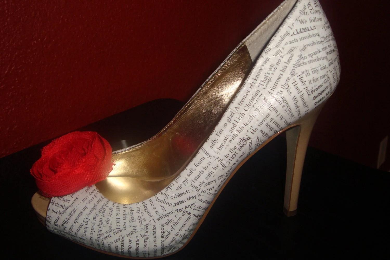 Inspired Grey Heels