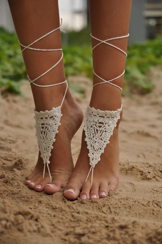 Pretty Wedding Sandals