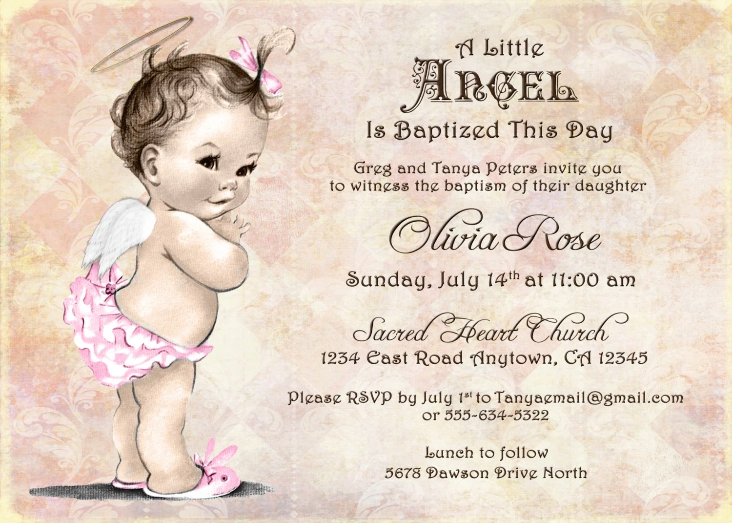 Create Christening Invitations Online