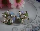 Vintage Pearl and Bead Cl...