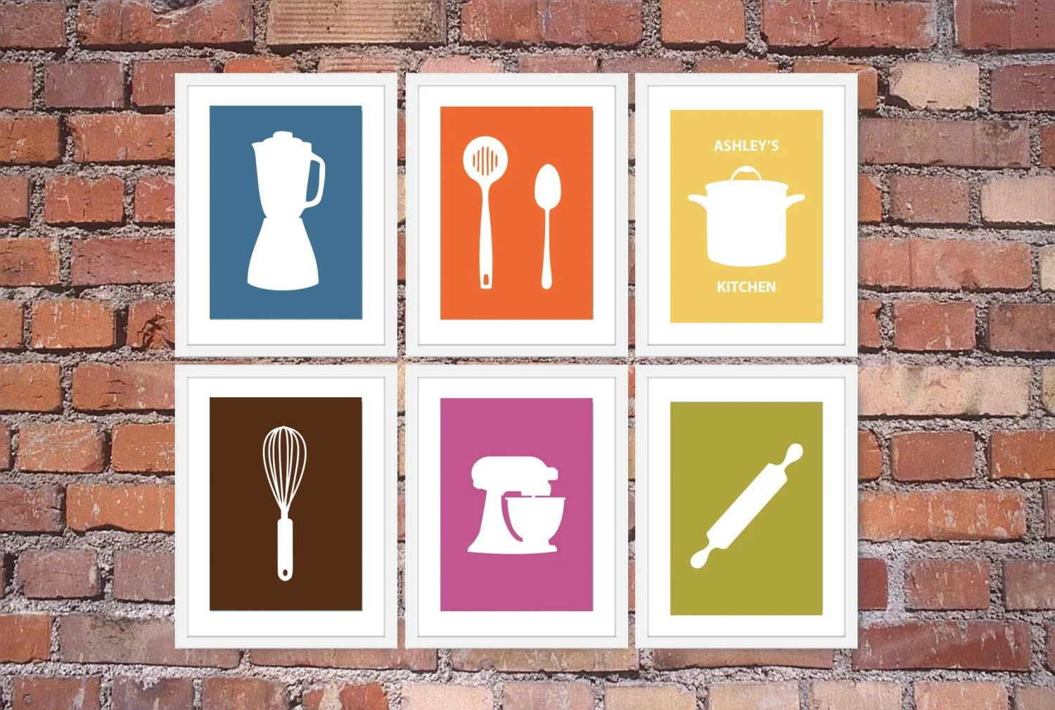 Contemporary Kitchen Wall Art