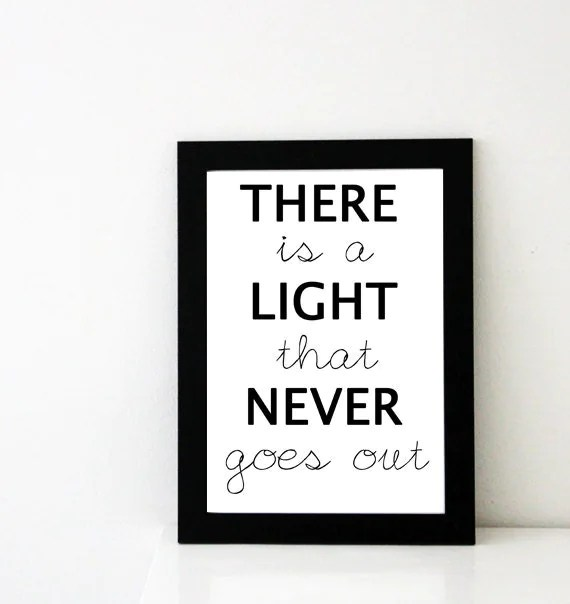Theres Light Never Goes Out Chords