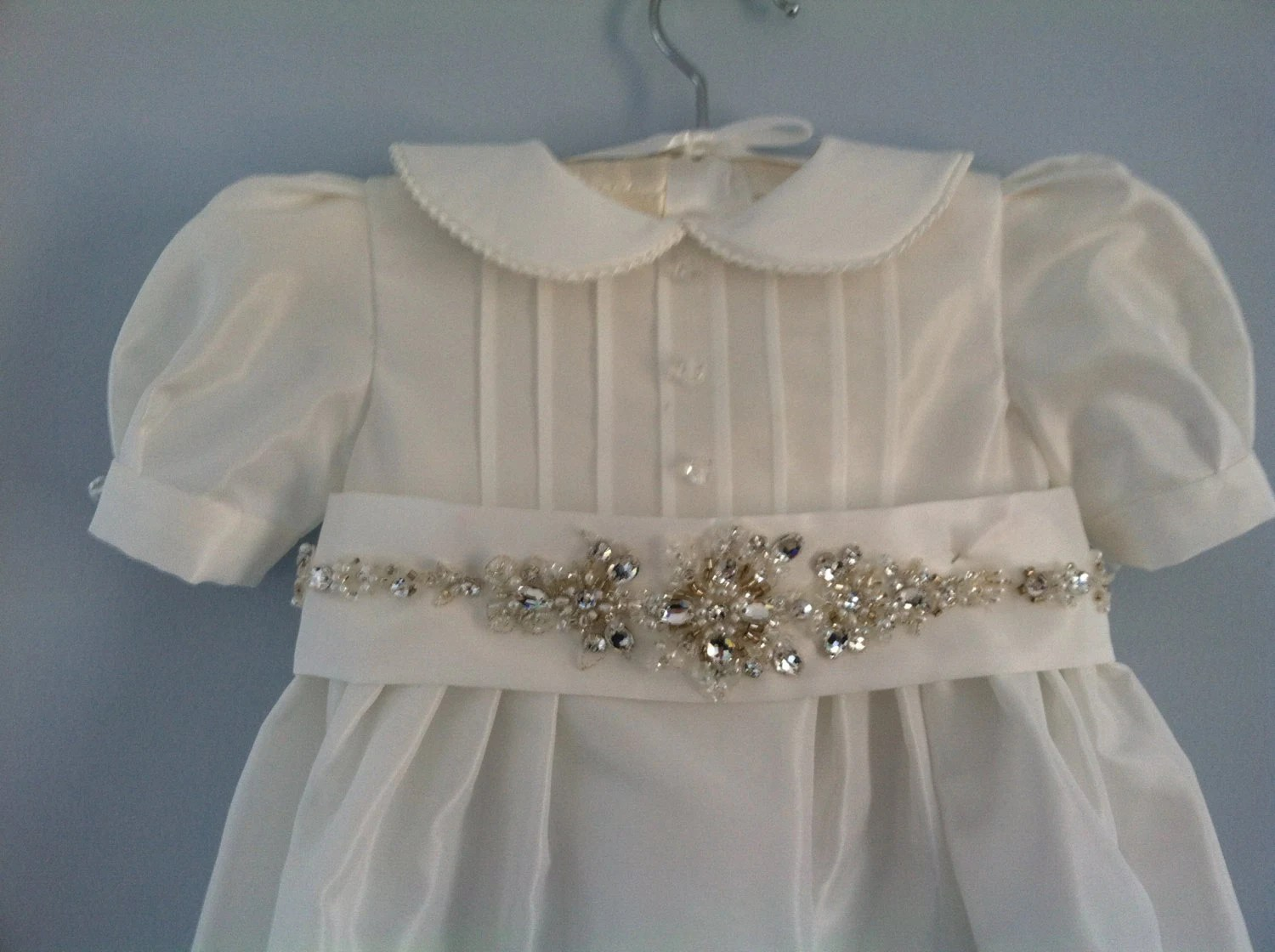Wedding Gown Conversion To Boy Or Girl Christening Gown