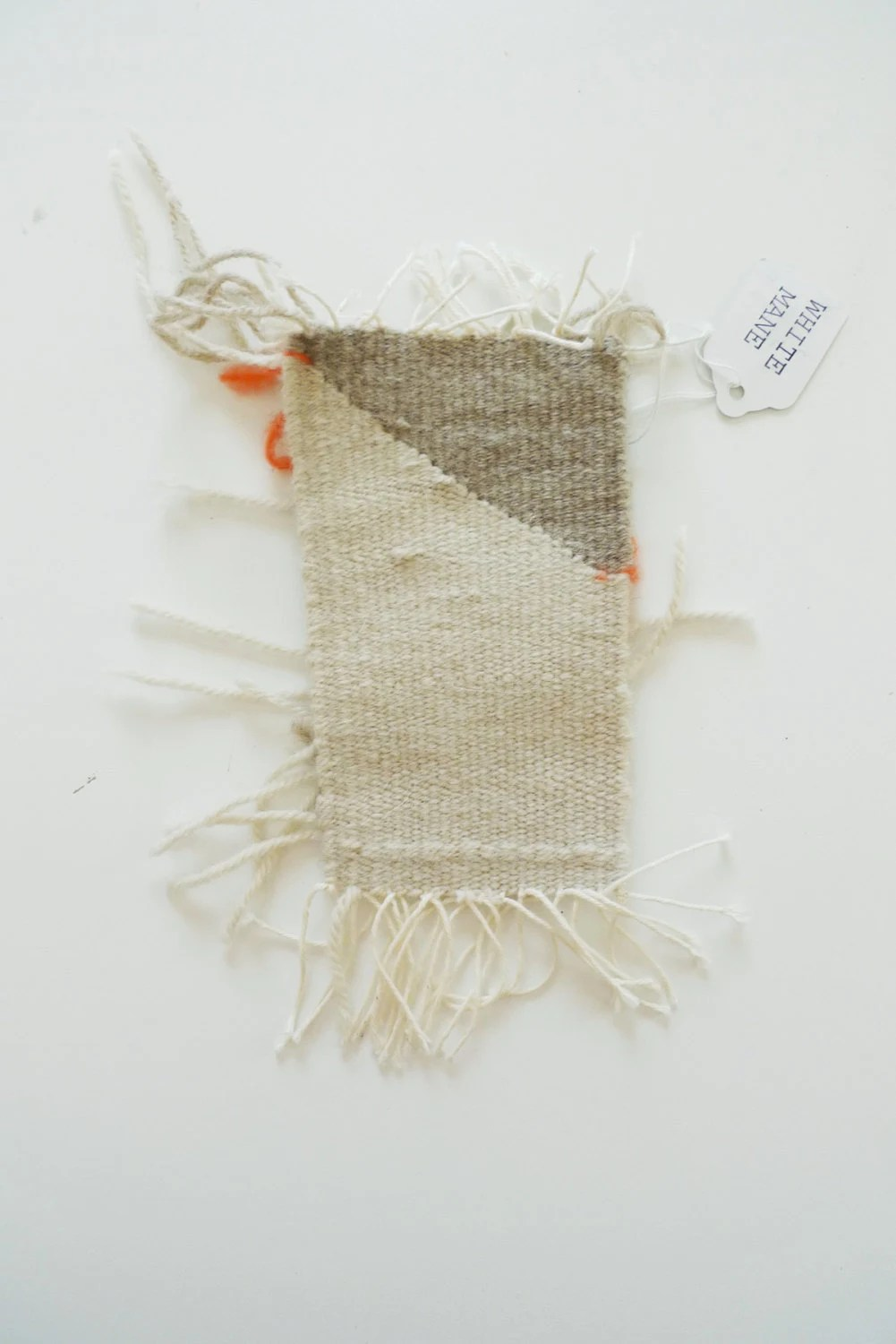 small weaving // wall hanging