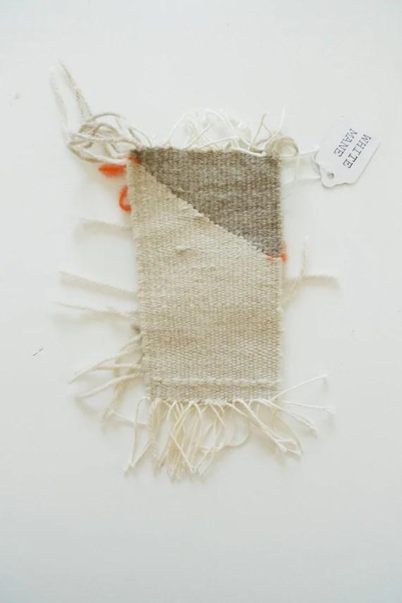 small weaving // wall hanging