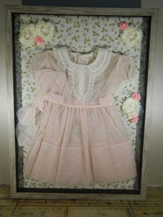 Baby Shadow Box Clothes