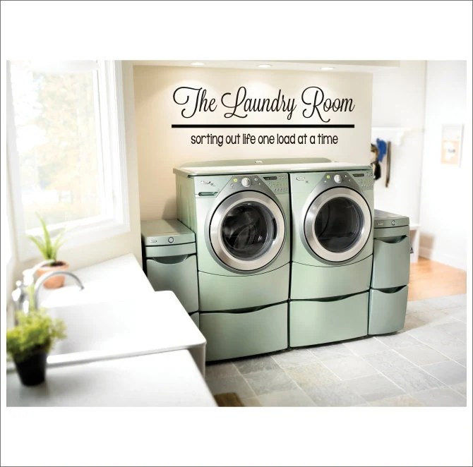 Old Fashioned Laundry Room Decor