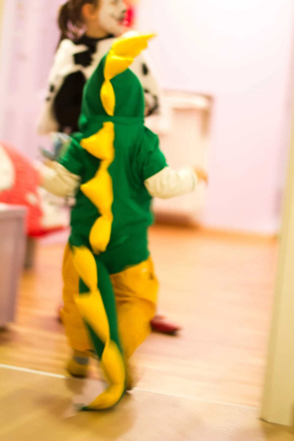 Little dragon/dinosaurus costume for carnival - Fedelica