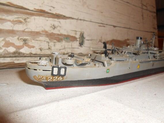 Vintage Plastic Toy Ship