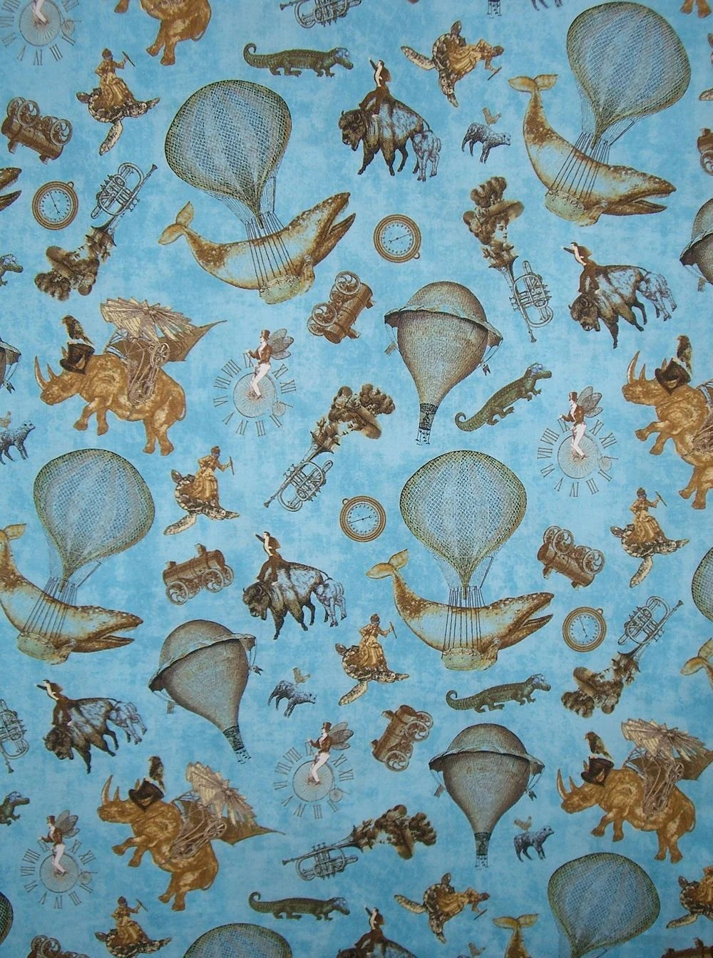 Cotton Print Fabric Yard