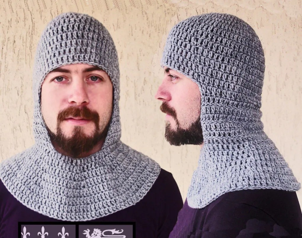 Knight S Helmet Crochet Pattern