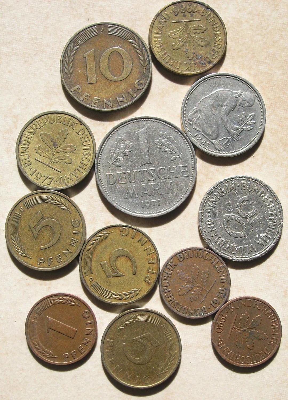 German Coins Collectible Coins Vintage Coins Old Deutsch