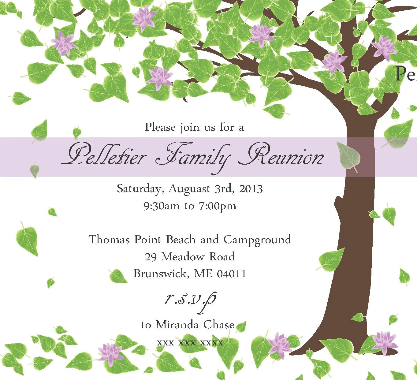Custom Invitations Same Day
