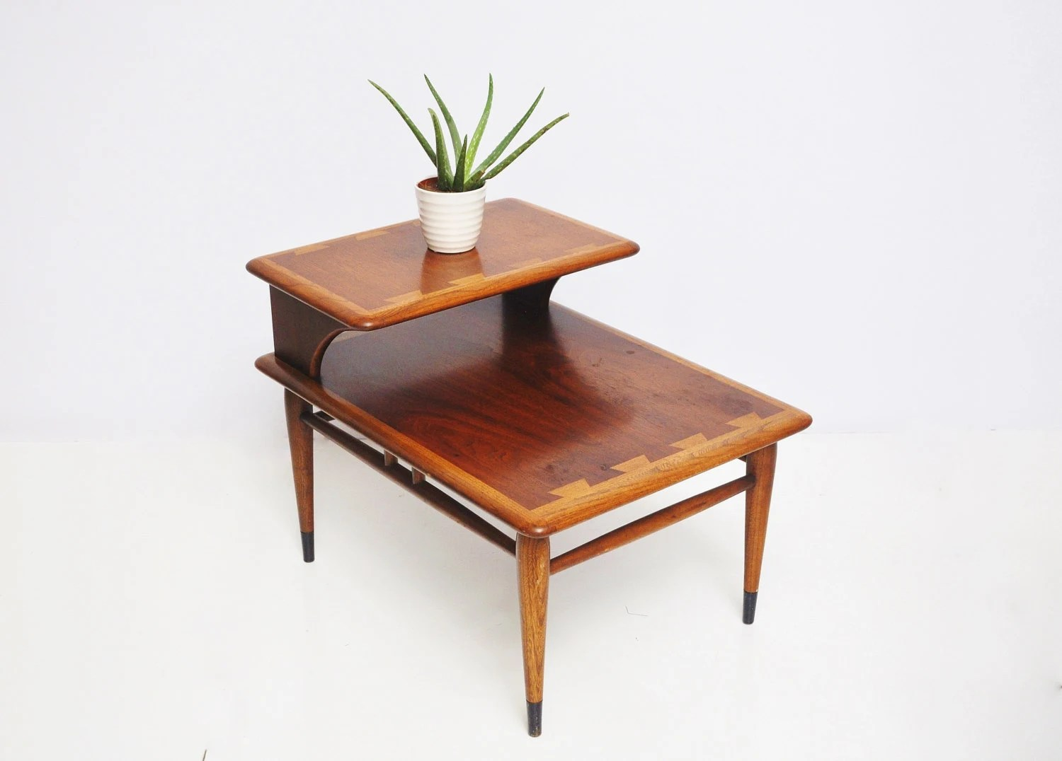 Pair Of Mid-Century Lane End Tables