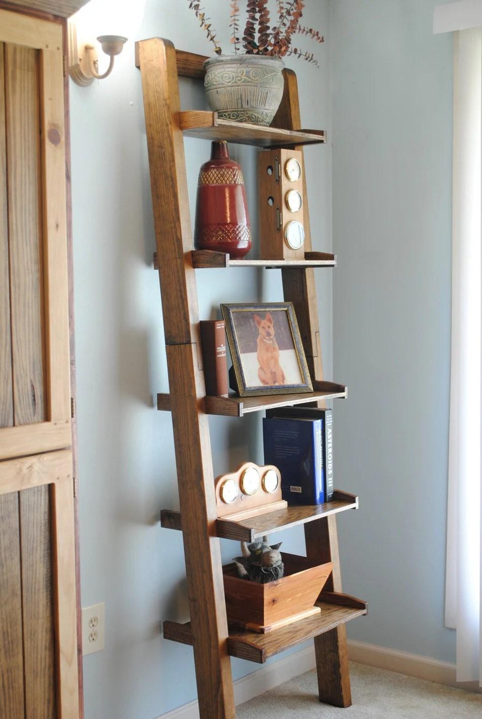 title   Ladder Bookshelf