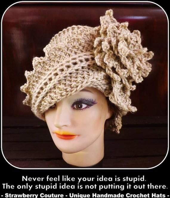 Crochet Pattern Hat, Crochet Hat Pattern, Sun Hat Pattern, Womens ...