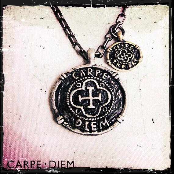 Carpe Diem Necklace Seize the Day Jewellery by ...