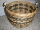 ON SALE Birdhouse handled basket