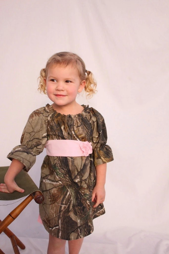 Camo Flower Girl Dress Baby Girl Camo Dress Camo Wedding