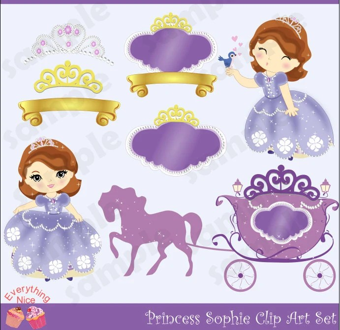 Sophia First Clip Art