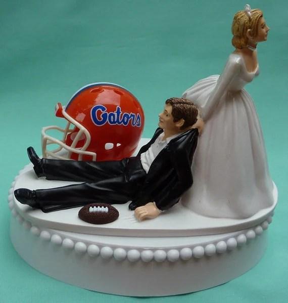 Wedding Cake Topper University Of Florida Gators UF Football