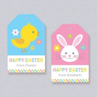 Free printable gift tags for easter merry christmas and happy free printable gift tags for easter negle Images