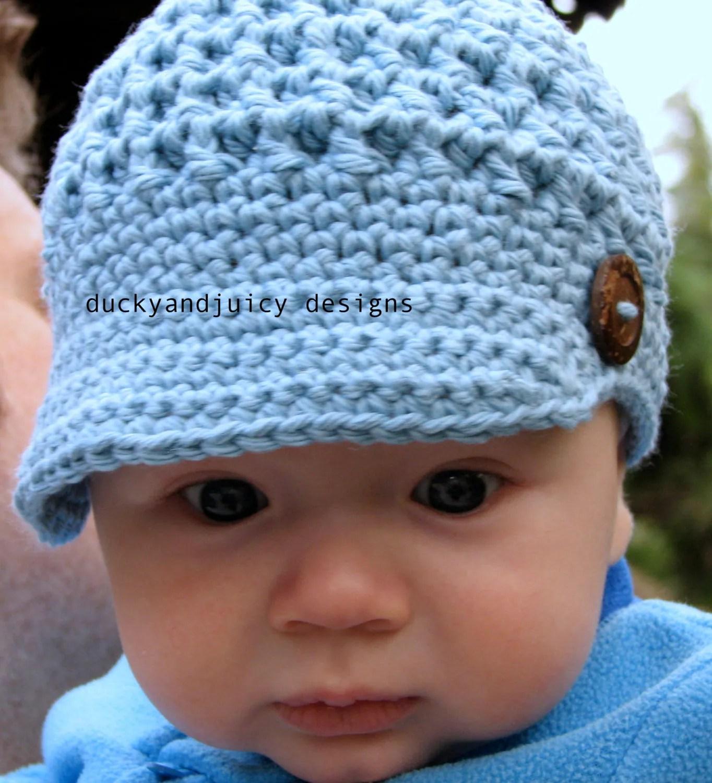 Knit Newsboy Hat Toddler