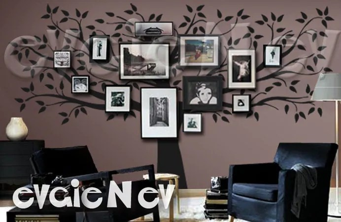 Family Tree Wall Decal Picture Frame Wall Decals Wall