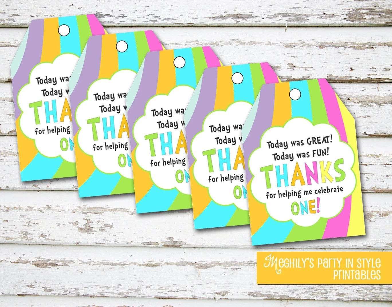 Instant Download Oh The Places Youll Go Favor Tags