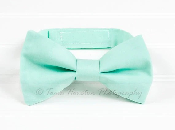 Boy's, Girl's Bow Tie, Newborn, Baby, Child- Mint Green (2-3 Business Day Processing) - Tomastutusandthings