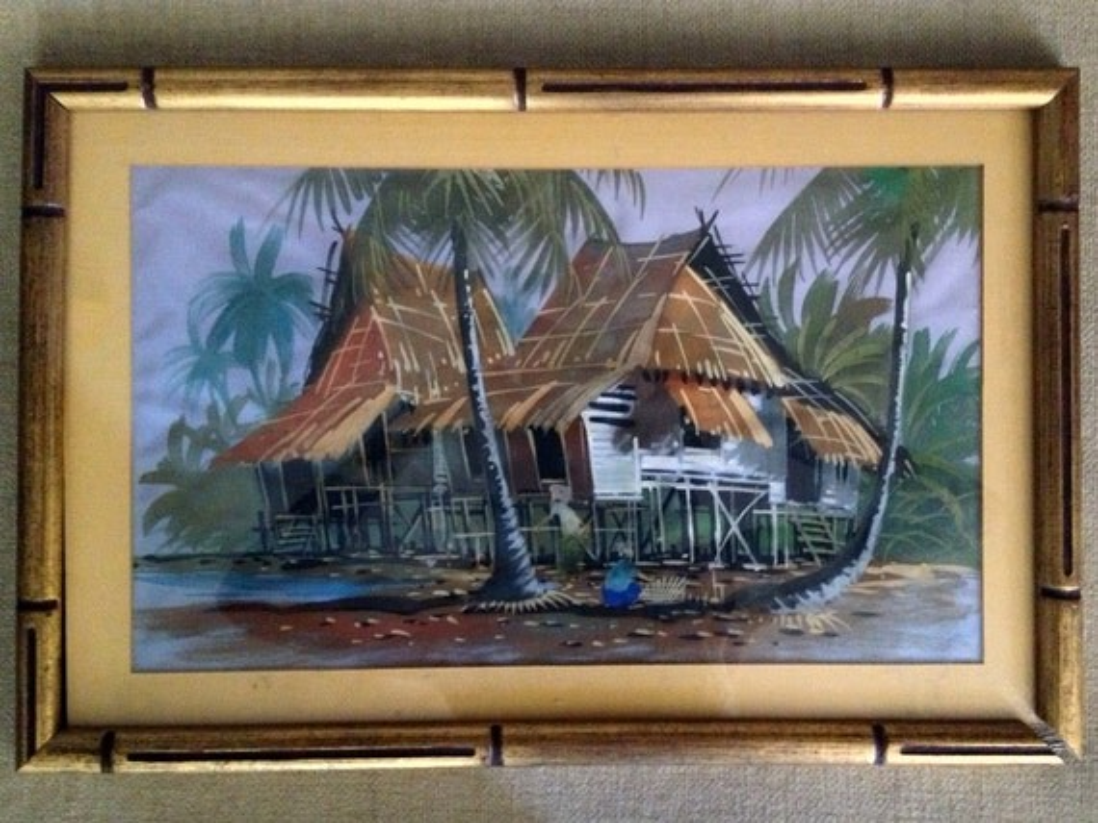 Hawaiian Home Decor Fabric