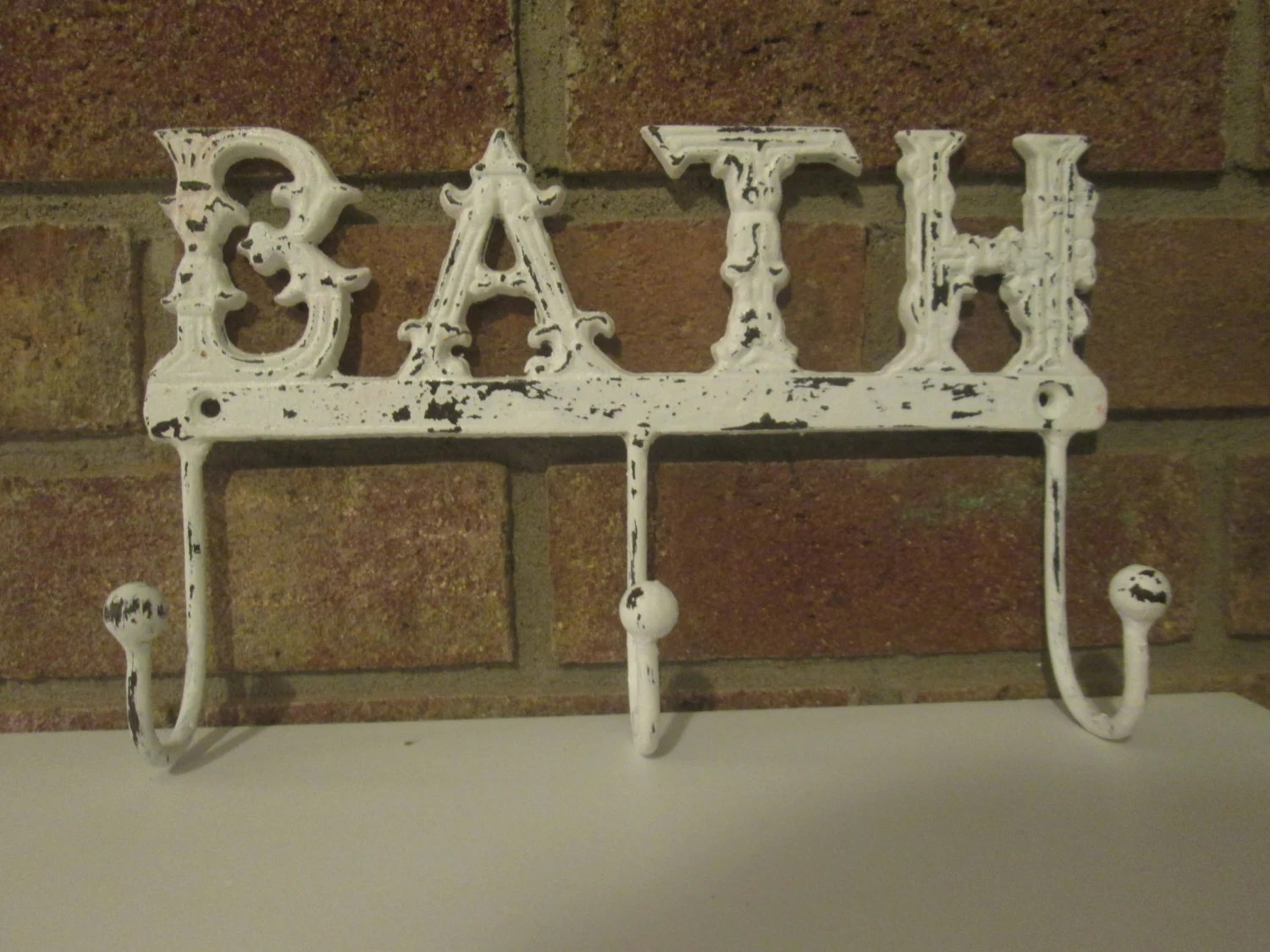 Shabby Chic Bath Towel Hook