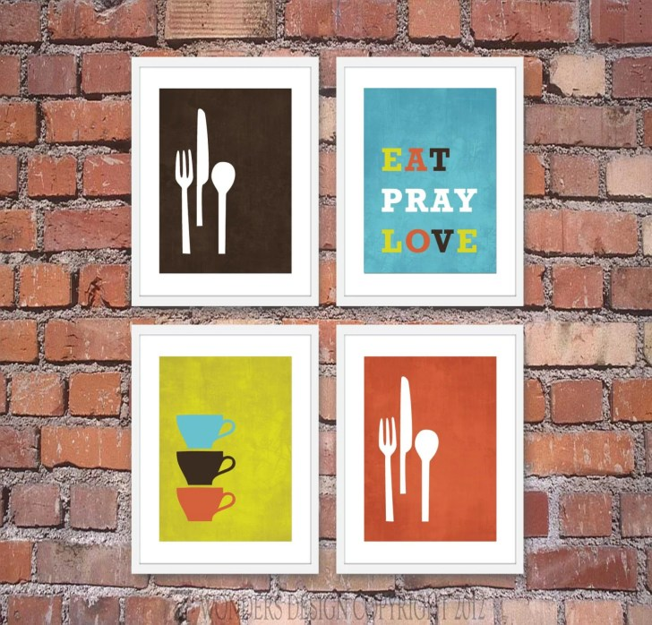 Modern Kitchen Wall Art Print Set Inspirational 7wondersdesign