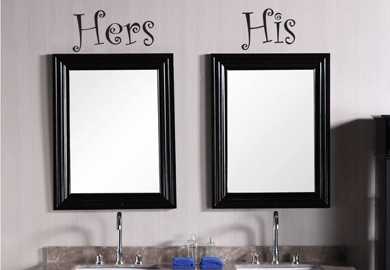 His And Hers Wall Decor