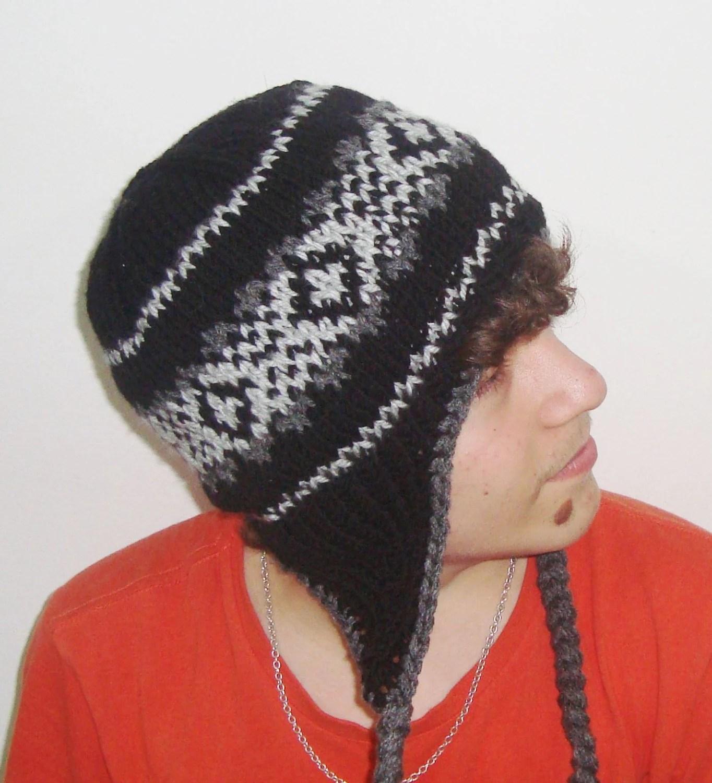 Slouchy Beanie Knitting Pattern Mens