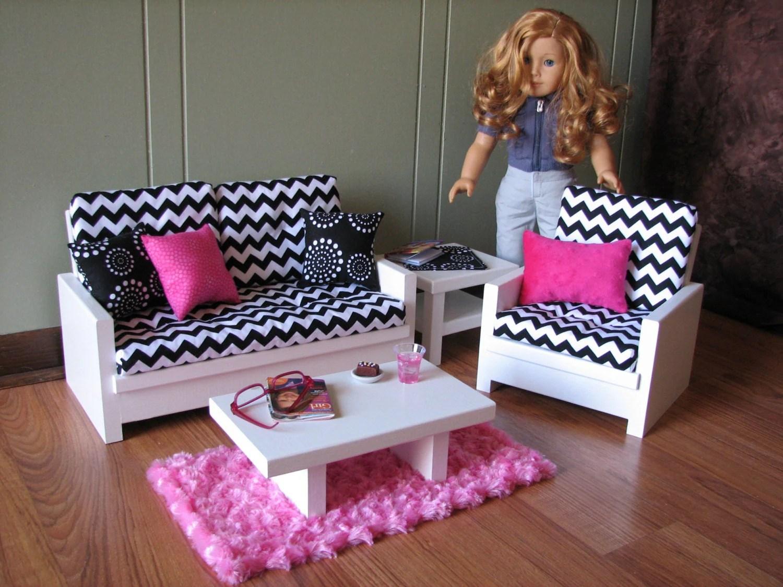 American Girl Doll Bedroom Set Up